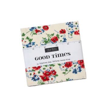 "Moda - Good Times by American Jane - 5"" Charm Squares"