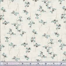 Makower - Serenity by Fireside Fabrics - Maple Leaf - REMNANT