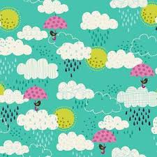 Makower - Windy Day- Clouds