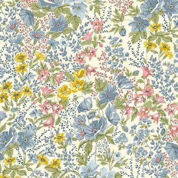 Makower - Andover - Mayflower - Meadow in Cream