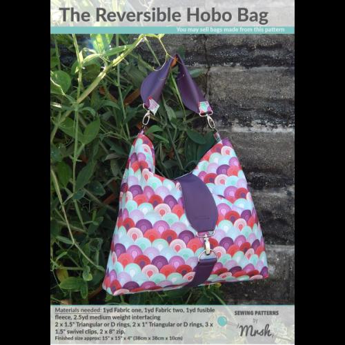 Mrs H - The Reversible Hobo bag