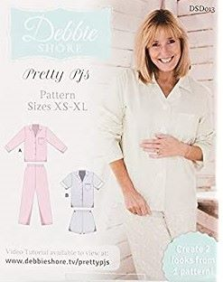 Debbie Shore - Pretty PJS - Sizes XS - XL