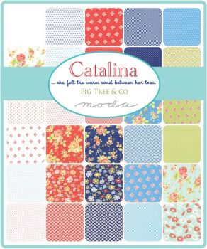 "Moda - Catalina by Fig Tree & Co - 2 1/2"" strips Jelly Roll"