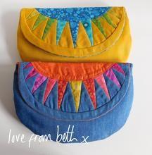 Beth Studley - Sunburst Purse Paper pattern