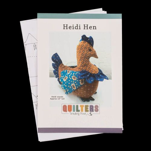 Quilters Trading Post - Heidi Hen paper pattern