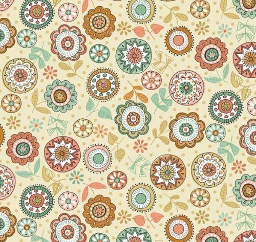 Makower - Doodle Days - Floral