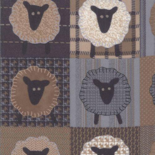 Moda -Farmhouse Flannels II - By  Primitive Gatherings - Multi
