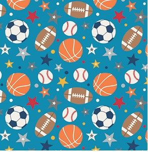 Riley Blake - Play Ball 2 - fat quarters only