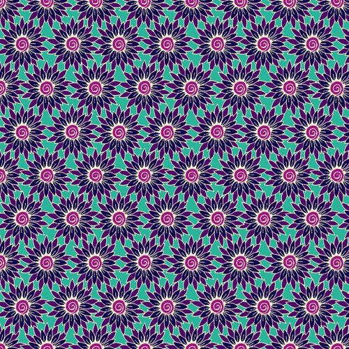 Makower - Henna by Beth Studley - Sunflower