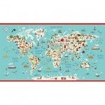 Makower - Around the World panel