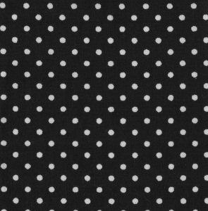 3mm Polka Dot - Black