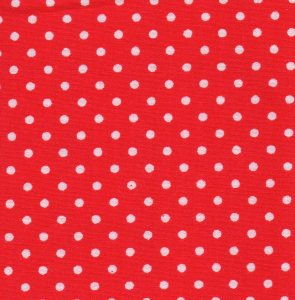 3mm Polka Dot - Bright Red