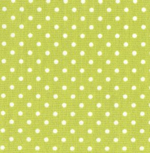 3mm Polka Dot - Lime Green