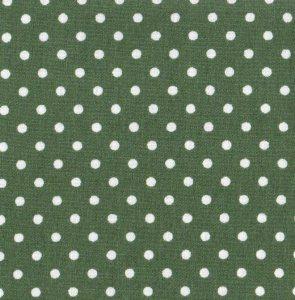 3mm Polka Dot - Old Green