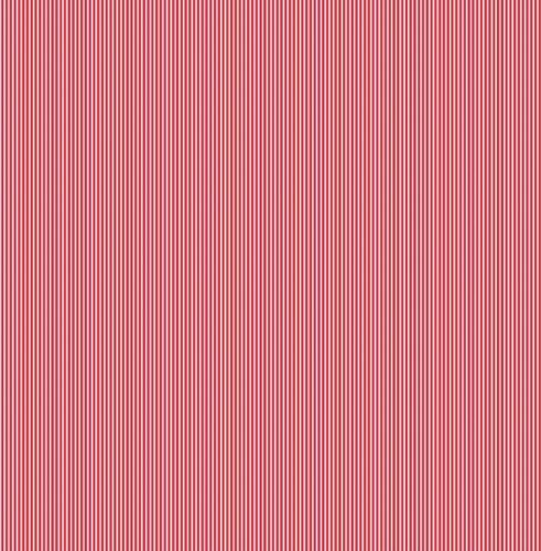Makower - Pinstripe - Red