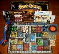 'Hero Quest: Against The Ogre Horde' Board Game: UNBOXED