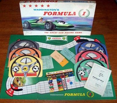 'Formula 1' Board Game