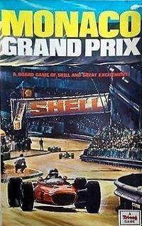 Monaco Grand Prix Board Game | Vintage Board Games & Classic Toys | Vintage Playtime