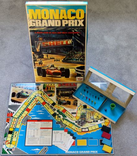 'Monaco Grand Prix' Board Game