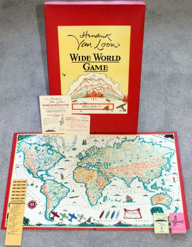 'Wide World' Board Game