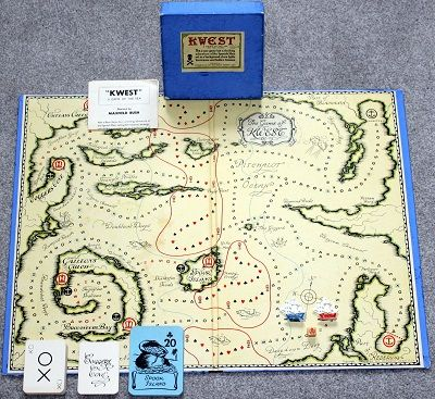 'Kwest: A Game Of The Sea' Board Game