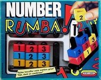 Number Rumba! Card Game | Vintage Board Games & Classic Toys | Vintage Playtime