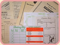 Rules & Score Sheets