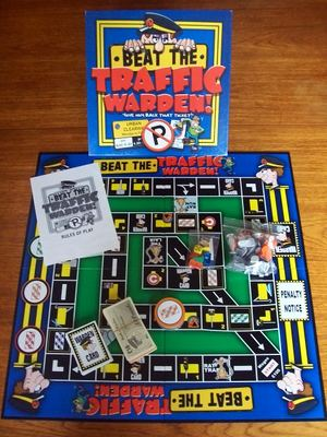 'Beat The Traffic Warden' Board Game