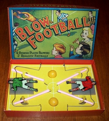 'Blow Football' Game