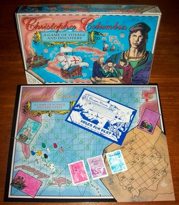'Christopher Columbus' Board Game
