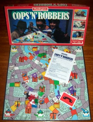 'Cops 'N' Robbers' Board Game
