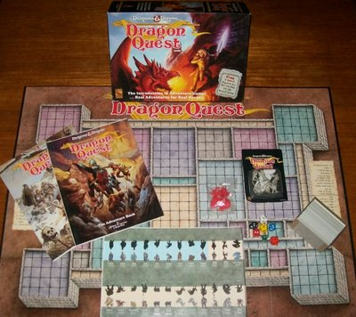 Dungeons Amp Dragons Dragon Quest Board Game By Tsr