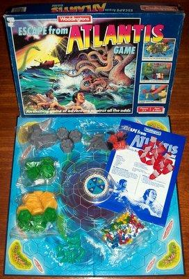 'Escape From Atlantis' Board Game