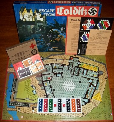 'Escape From Colditz' Board Game