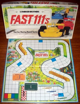 'Fast 111's' Board Game