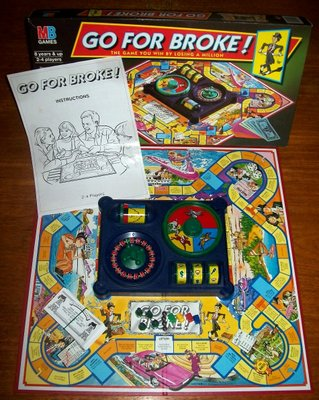 'Go For Broke!' Board Game