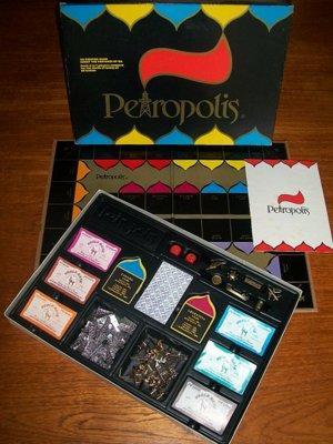 'Petropolis' Board Game