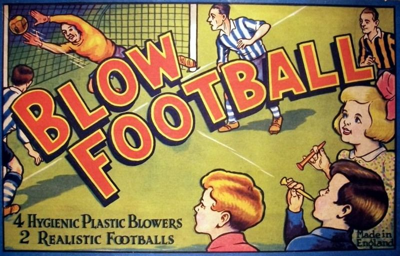 Blow Football Game | Vintage Board Games & Classic Toys | Vintage Playtime