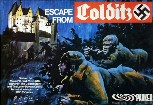 Escape From Colditz Board Game | Vintage Board Games & Classic Toys | Vintage Playtime