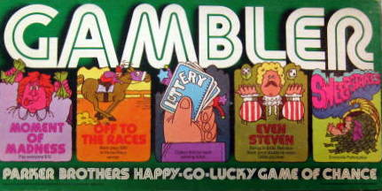 Gambler Board Game | Vintage Board Games & Classic Toys | Vintage Playtime