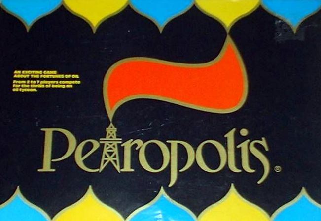 Petropolis Board Game | Vintage Board Games & Classic Toys | Vintage Playtime
