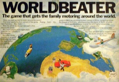 Worldbeater Board Game | Vintage Board Games & Classic Toys | Vintage Playtime