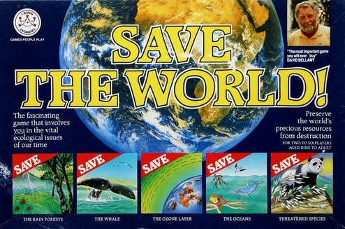 Save The World! Board Game | Vintage Board Games & Classic Toys | Vintage Playtime