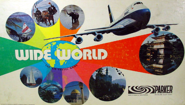 Wide World Board Game | Vintage Board Games & Classic Toys | Vintage Playtime