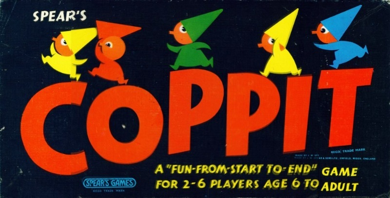 Coppit Board Game | Vintage Board Games & Classic Toys | Vintage Playtime