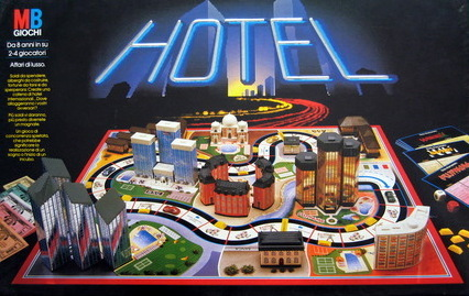 Hotel Board Game | Vintage Board Games & Classic Toys | Vintage Playtime
