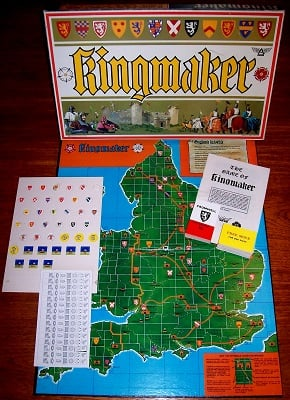 'Kingmaker' Board Game
