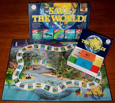'Save The World!' Board Game