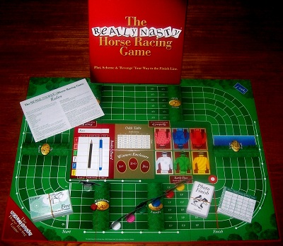 'The Really Nasty Horse Racing Game' Board Game