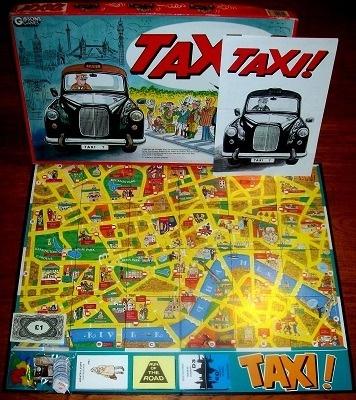 'Taxi!' Board Game